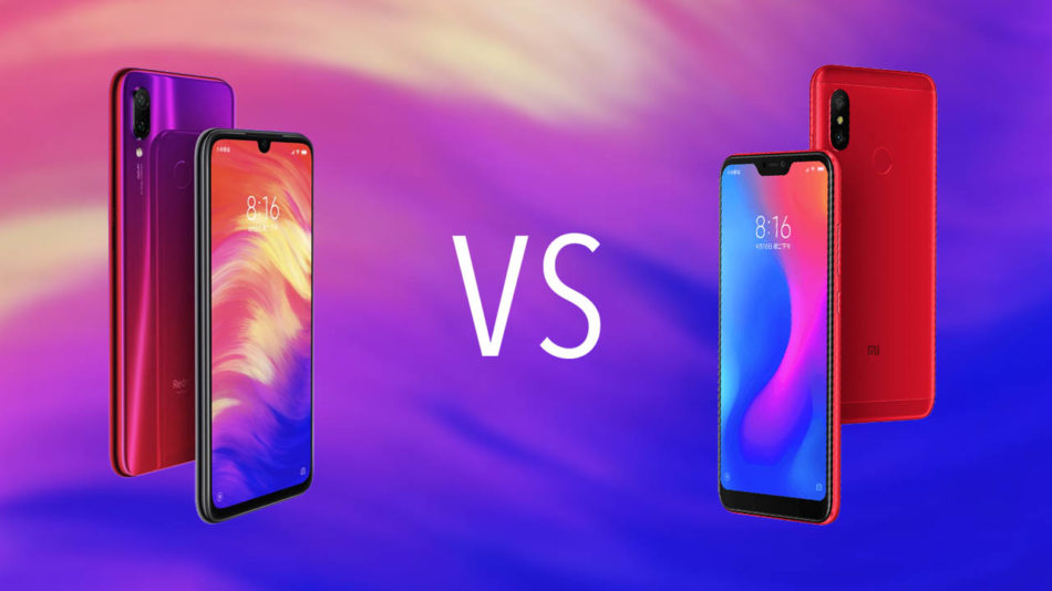 Comparativa Xiaomi Redmi Note 7 vs Xiaomi Redmi Note 6 Pro 1
