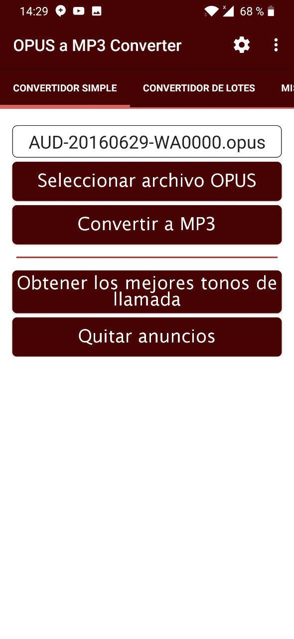convertir audio de whatsapp a mp3 3