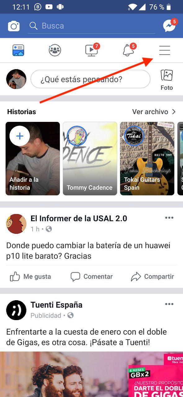desactivar cuenta facebook 2019 6