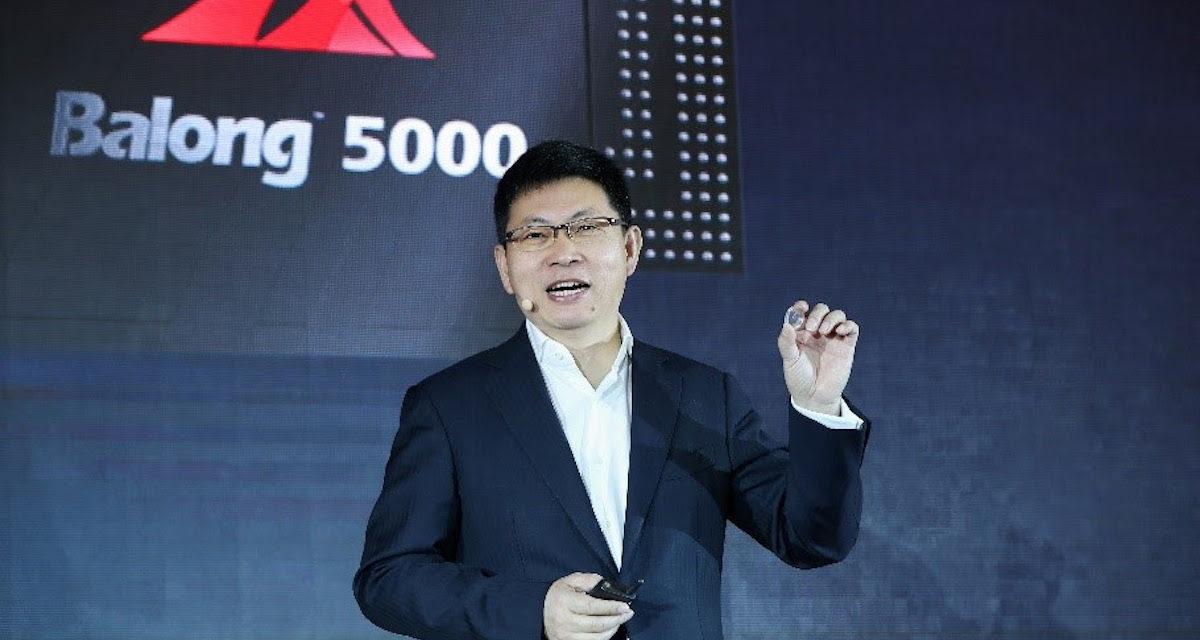 Huawei presenta su primer móvil con módem 5G