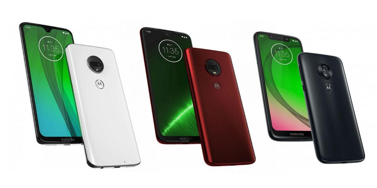 Se filtran las características de los Moto G7, G7 Plus, Power y Play