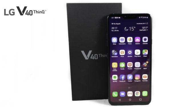 LG V40 ThinQ, precio y disponibilidad en España