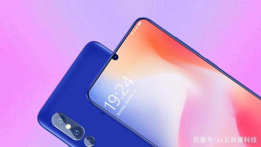 renders Xiaomi Mi 9 pantalla