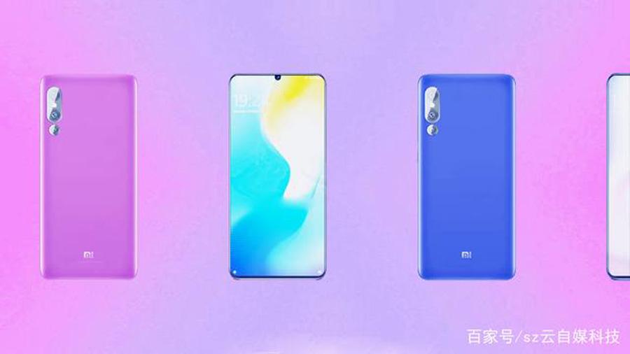 renders Xiaomi Mi 9 trasera