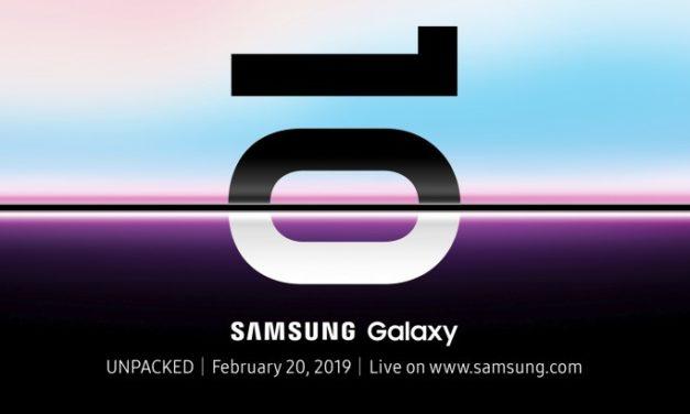 Ya conocemos la fecha de presentación de los Samsung Galaxy S10