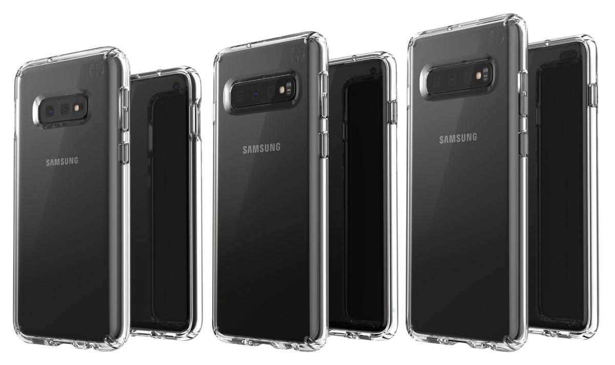 En esta imagen podemos ver las 3 variantes del Samsung™ Galaxy™ S10