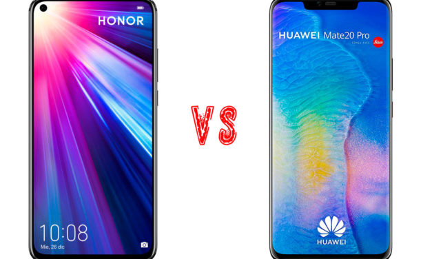 Comparativa Honor View 20 vs Huawei Mate 20 Pro