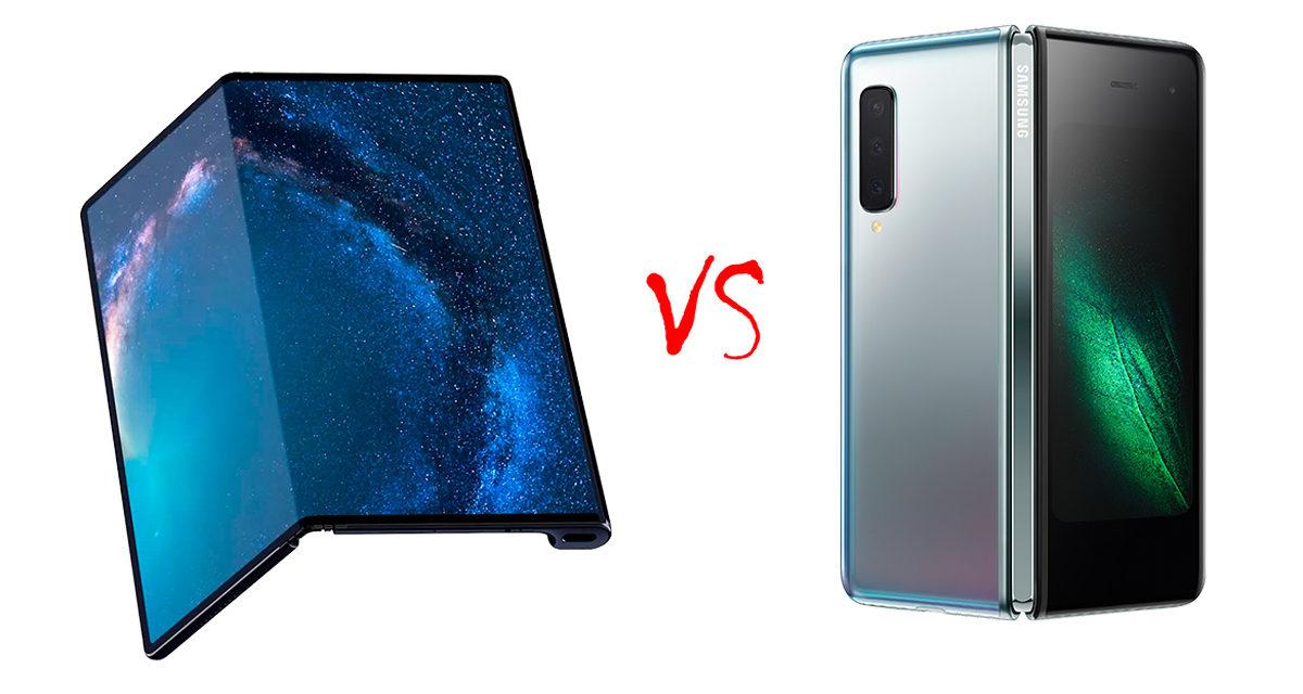 Comparativa Huawei Mate X vs Samsung Galaxy Fold