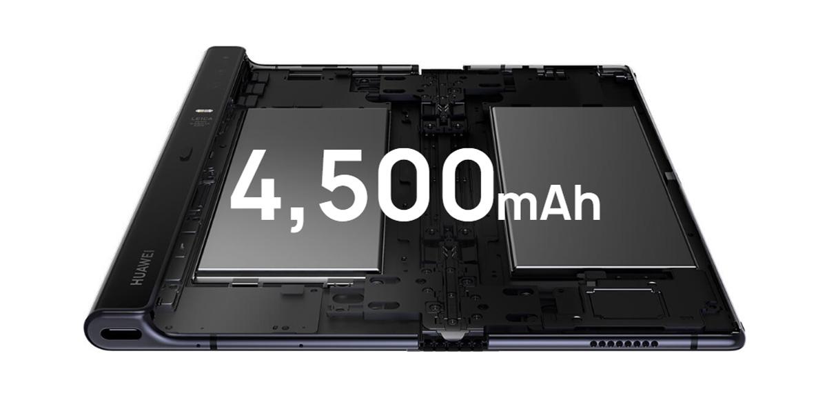 comparativa Huawei Mate X vs Samsung Galaxy Fold batería Mate X