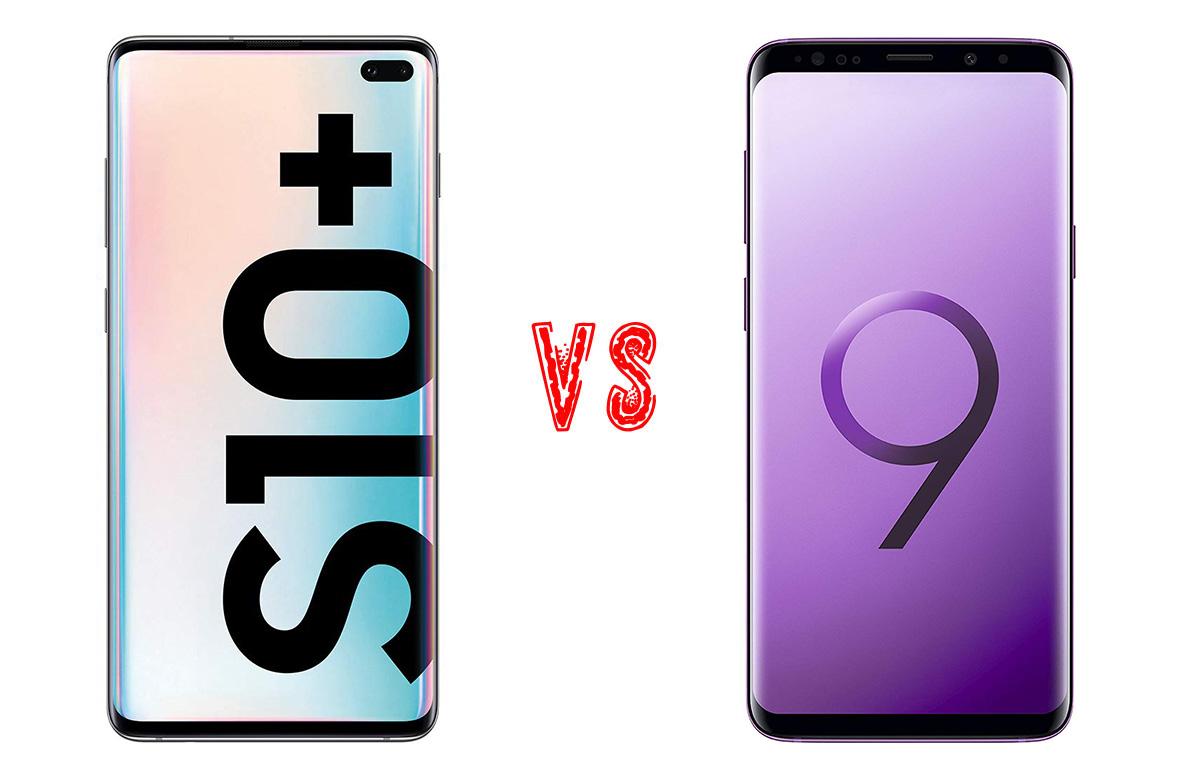 Comparativa Samsung Galaxy S10+ vs Samsung Galaxy S9+