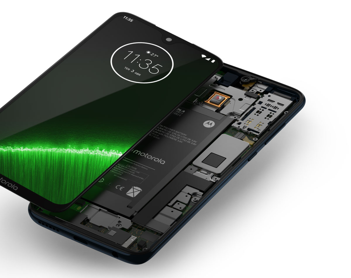 comparativa Xiaomi Redmi Note 7 vs Motorola Moto G7 Plus batería Moto G7 Plus