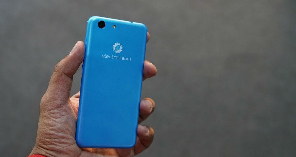Electroneum M1, móvil de menos de 100 euros que mina criptomonedas mientras lo usas