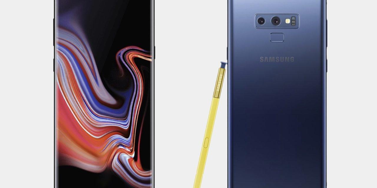 El Samsung Galaxy Note 9 con Android 9 recibe una actualización de seguridad