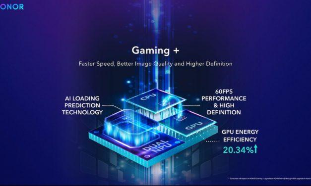 Honor presenta Gaming+ para mejorar la estabilidad y los gráficos de los juegos