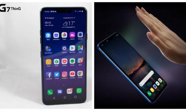 5 diferencias entre el LG G7 ThinQ y LG G8 ThinQ