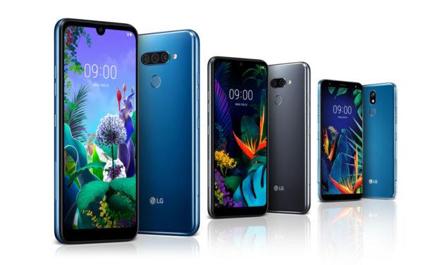 LG desvela las especificaciones principales de los LG Q60, LG K50 y LG K40