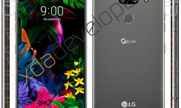 Aparecen en la red nuevas características del LG G8