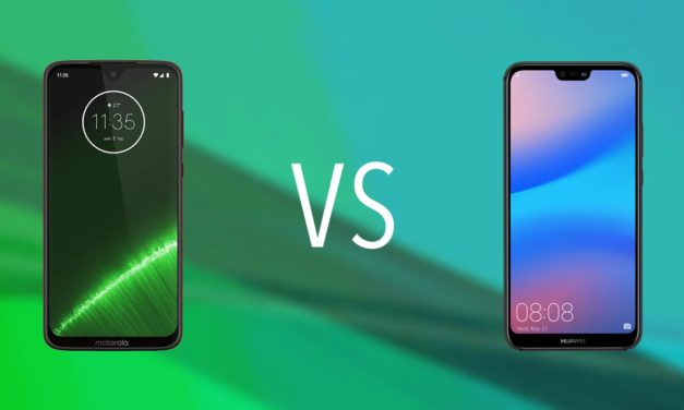 Comparativa Motorola Moto G7 vs Huawei P20 Lite