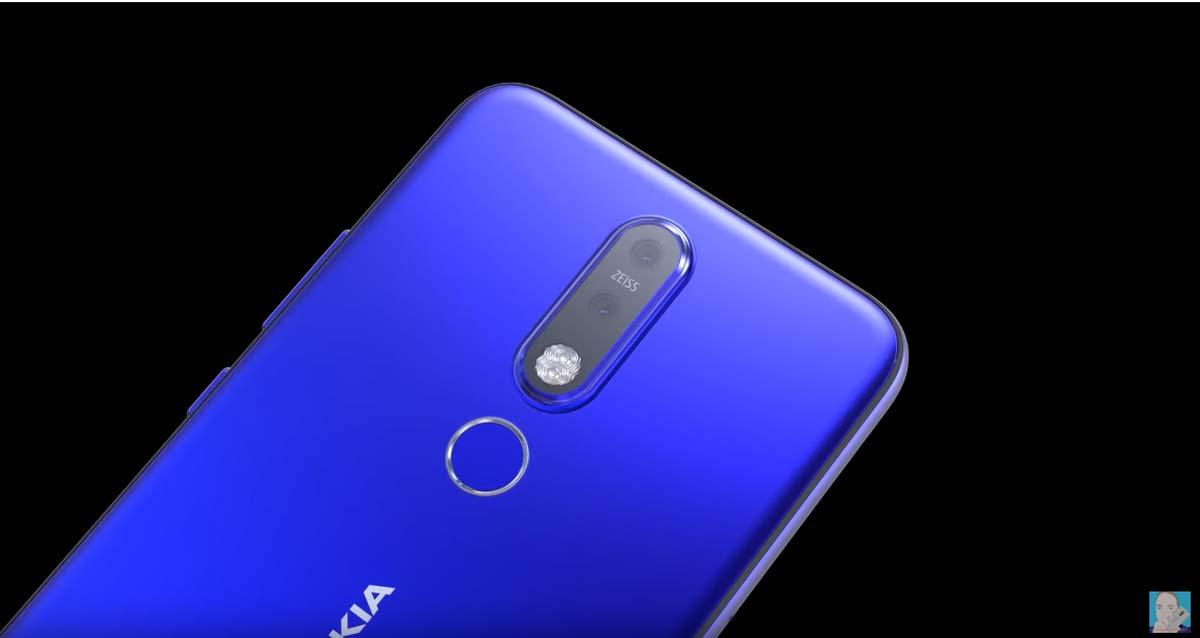 El diseño del Nokia 6.2 con cámara en pantalla se deja ver en vídeo