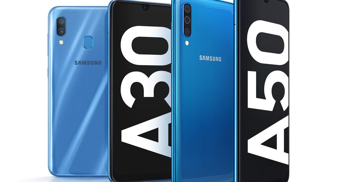 Samsung Galaxy A30, pantalla panorámica, gran batería y doble cámara