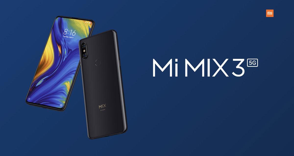 Xiaomi Mi MIX 3 5G, mismas prestaciones pero con conectividad 5G