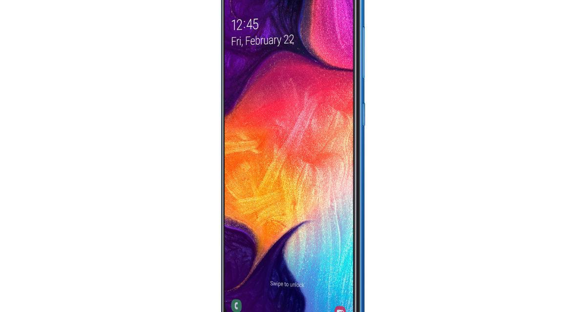 El Samsung Galaxy A50 se actualiza con mejoras en el lector de huellas