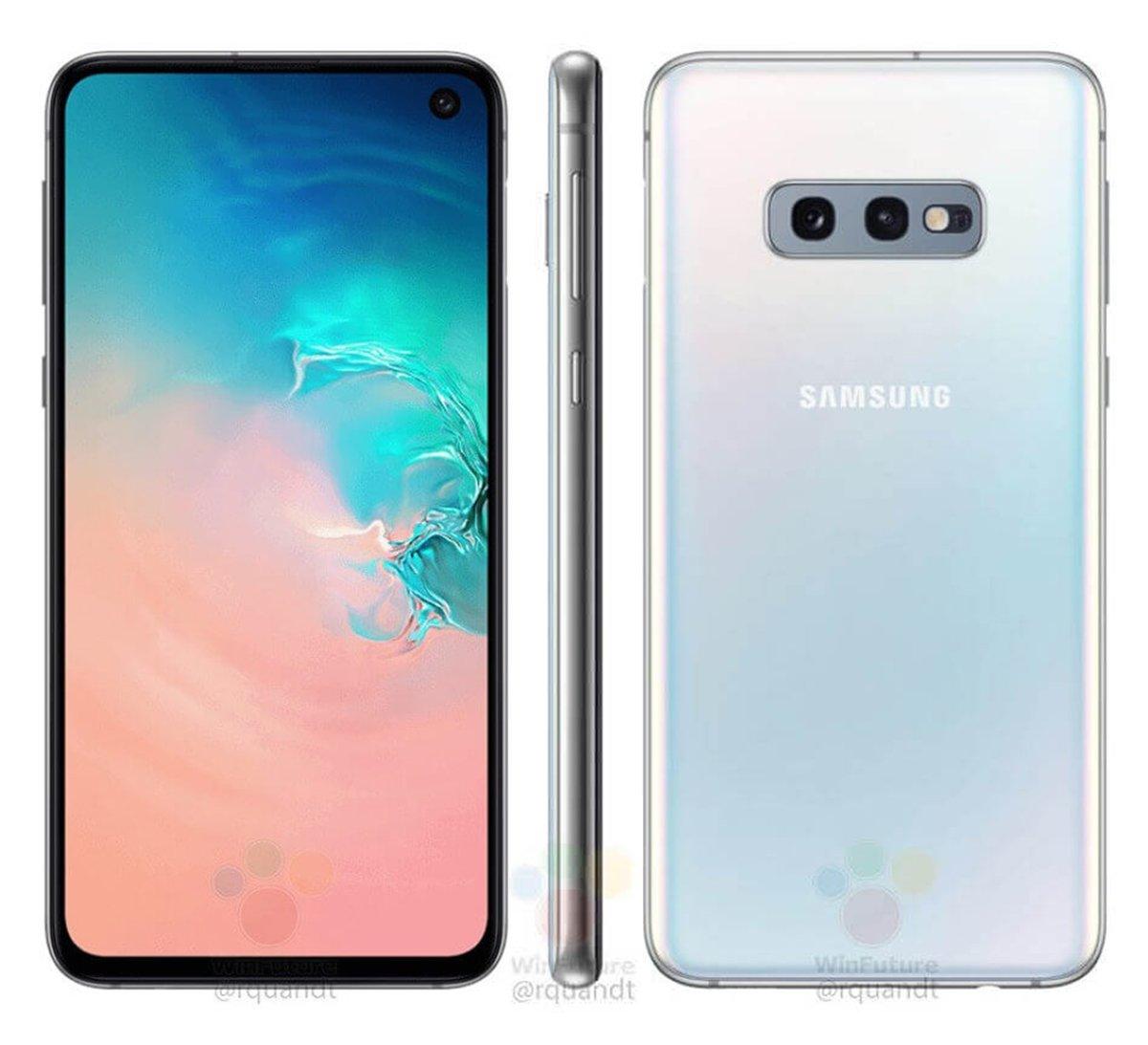 Samsung Galaxy S10e, así es el diseño del S10 económico