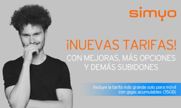 Simyo rebaja tarifas y suma gigas gratis