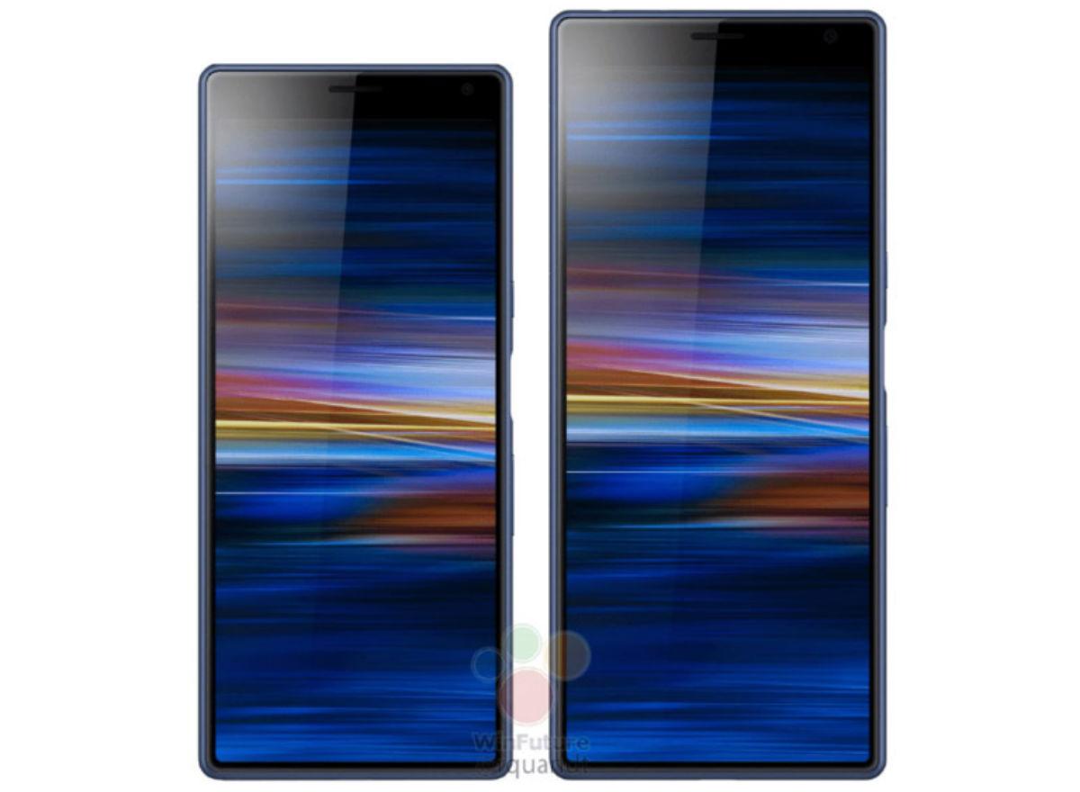 Aparecen las especificaciones y precios de los Sony Xperia 10 y 10 Plus
