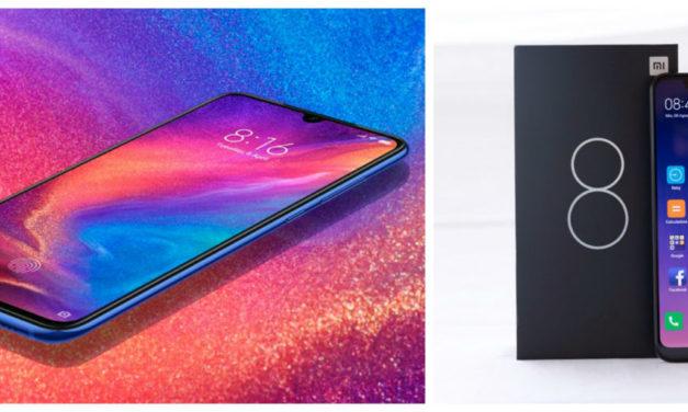 Las cinco diferencias entre el Xiaomi Mi 9 y Xiaomi Mi 8
