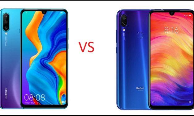 Comparativa Huawei P30 Lite vs Xiaomi Redmi Note 7
