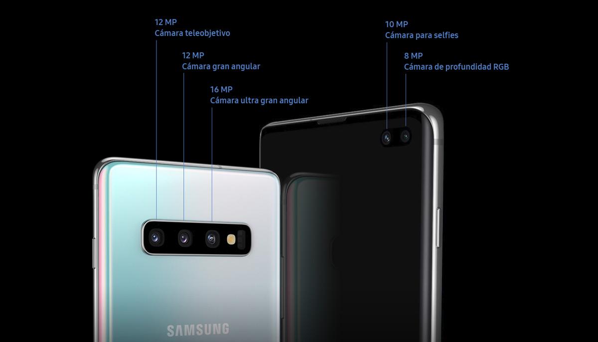 comparativa Samsung Galaxy S10+ vs Samsung Galaxy Note 9 cámaras S10