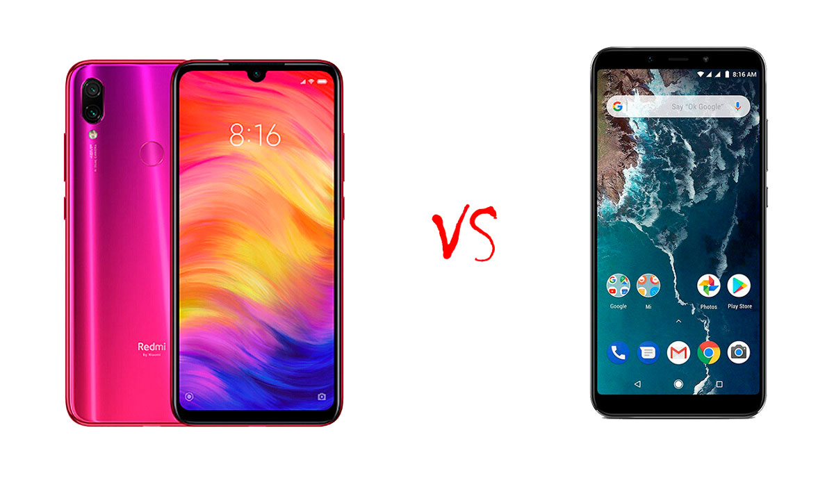 Comparativa Xiaomi Redmi Note 7 vs Xiaomi Redmi Note 6 Pro
