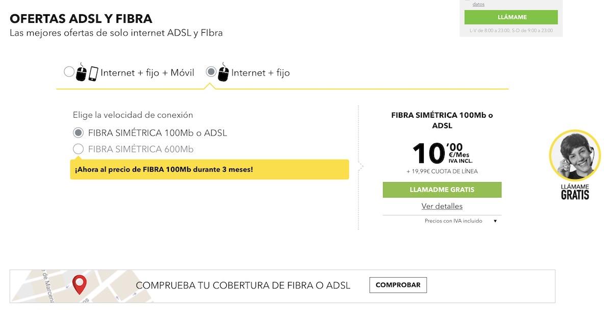 fibra 100 masmovil