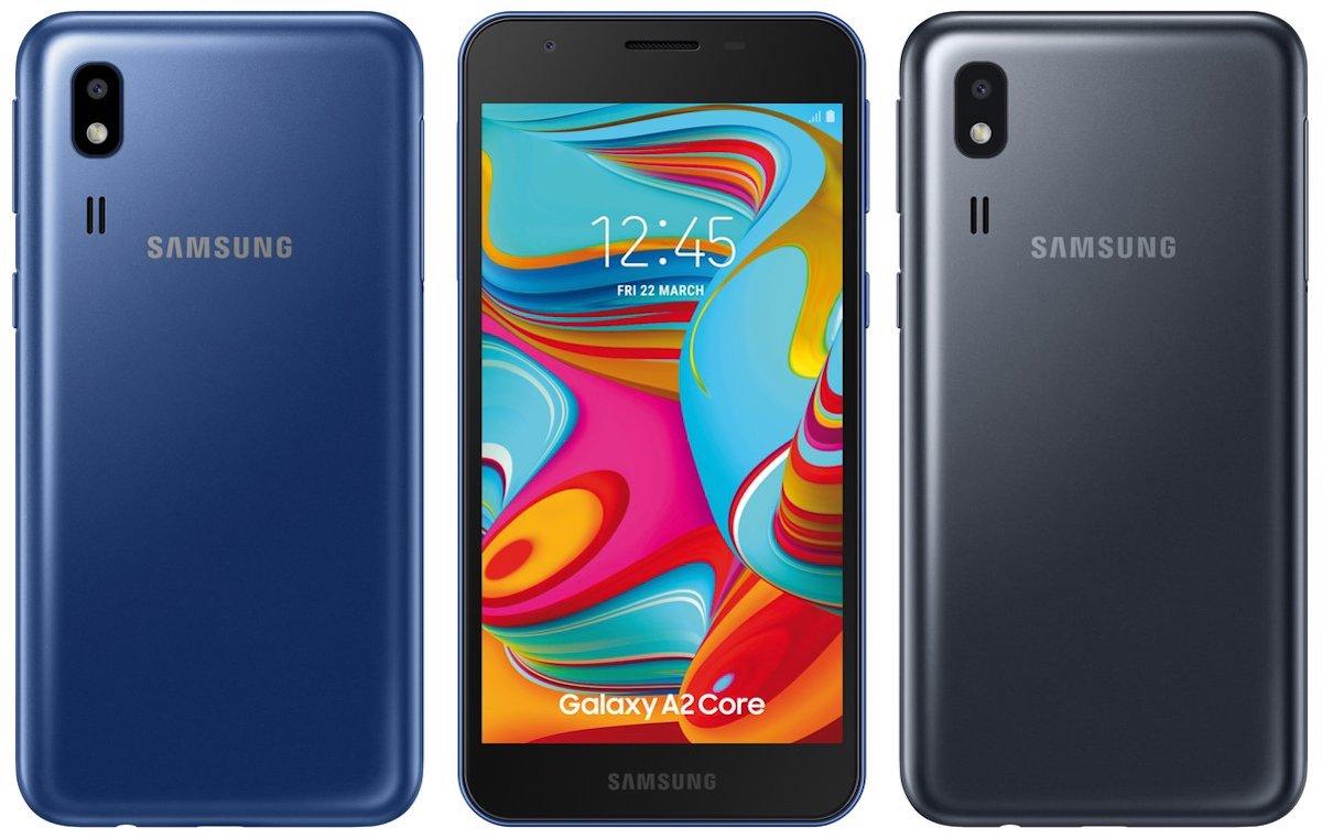 Aparecen detalles del gama baja Samsung Galaxy A2 Core con Android Go