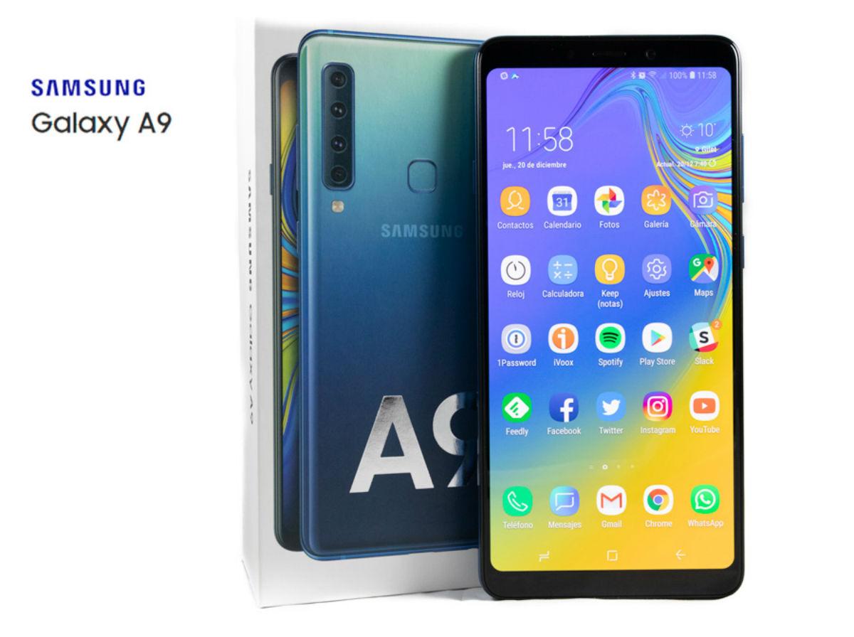 El Samsung Galaxy A9 empieza a actualizarse a Android 9
