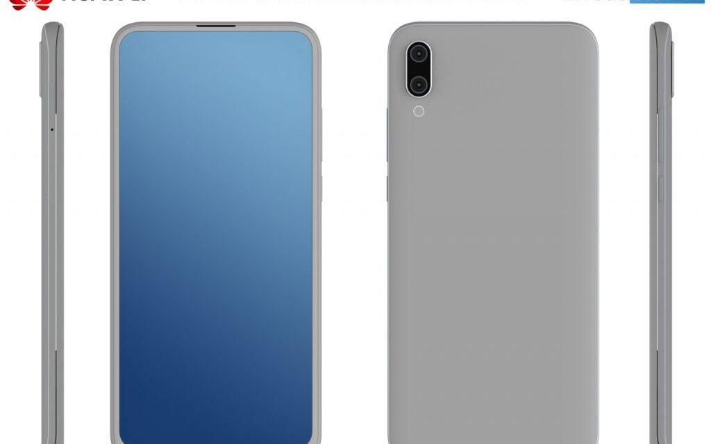 Huawei podría lanzar un móvil sin marcos similar al Xiaomi Mi MIX 3