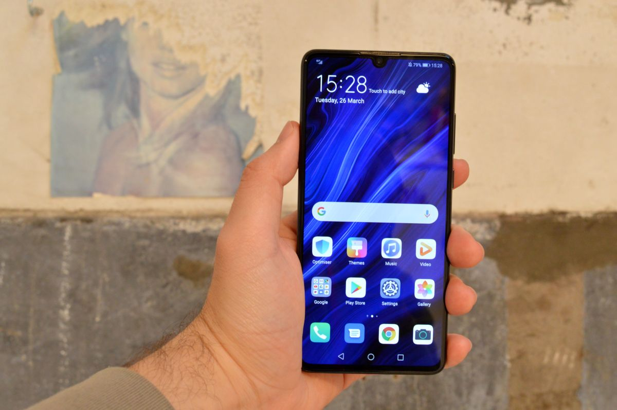 Huawei P30 camara