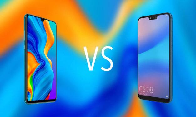 Comparativa Huawei P30 Lite vs Huawei P20 Lite