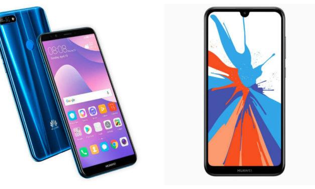 5 diferencias entre el Huawei Y7 2018 y Y7 2019
