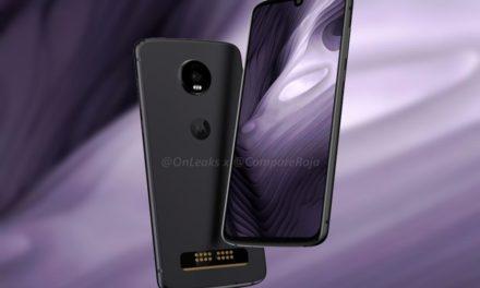 Confirmado el diseño del Motorola Moto Z4 antes de su presentación