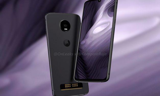 Se filtra el Motorola Moto Z4 al completo con un procesador menos potente