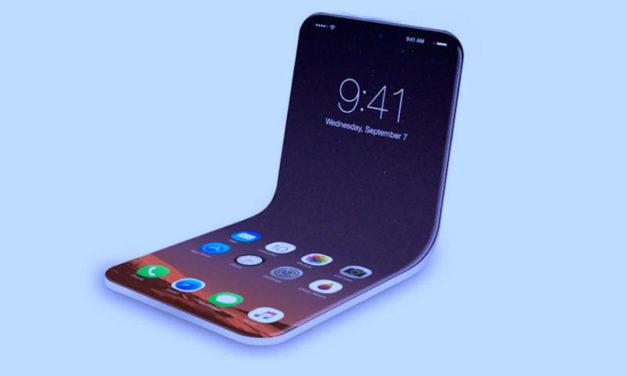 Una patente deja ver que Apple prepara un iPhone plegable