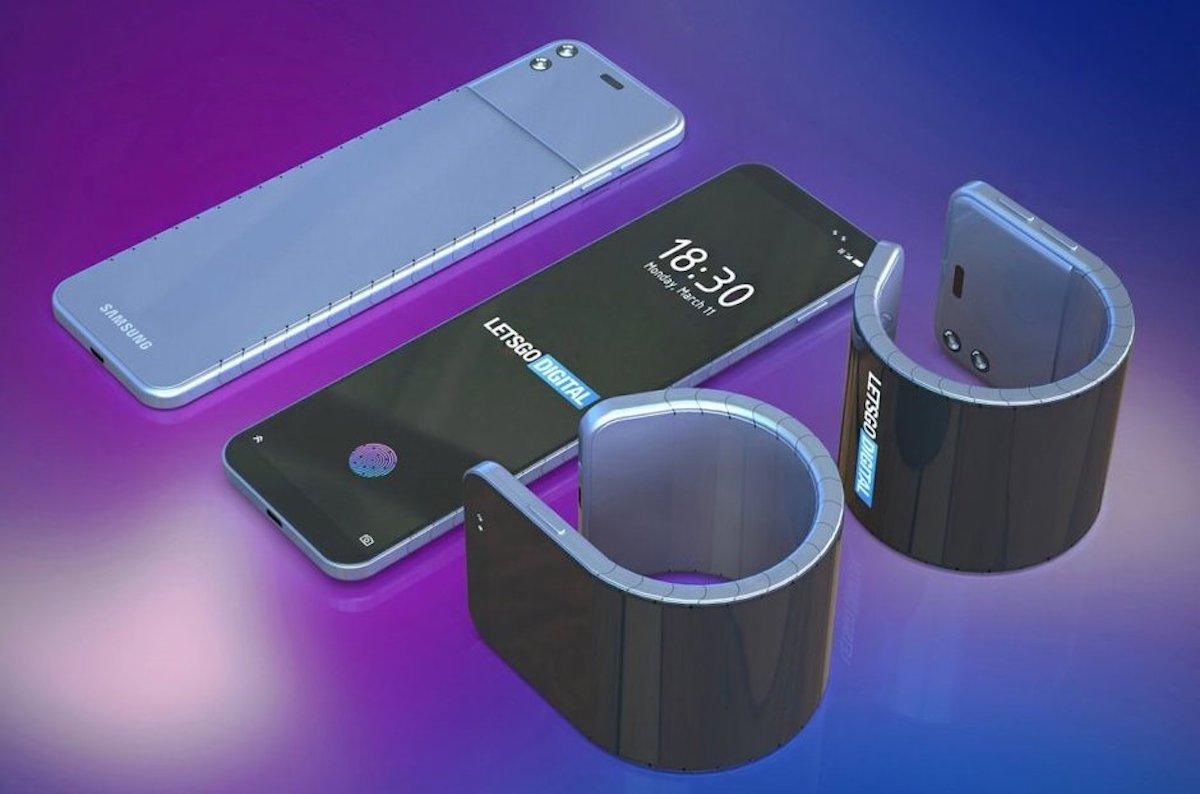patente samsung movil pulsera 3