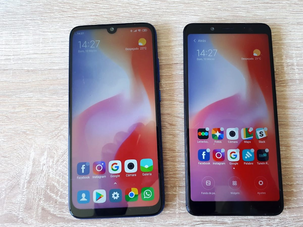 redmi note 5 y redmi note 7