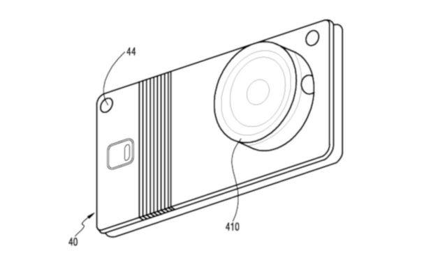 Samsung podría presentar un teléfono plegable con cámara extraible