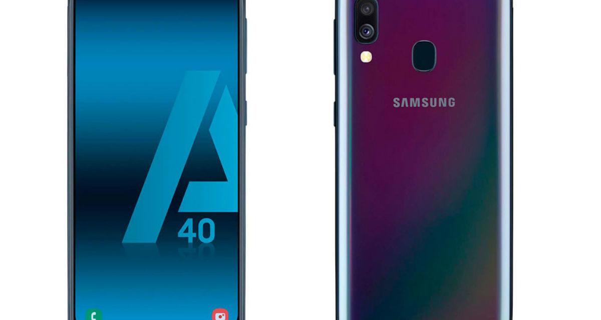 Samsung Galaxy A40, características, precio y opiniones