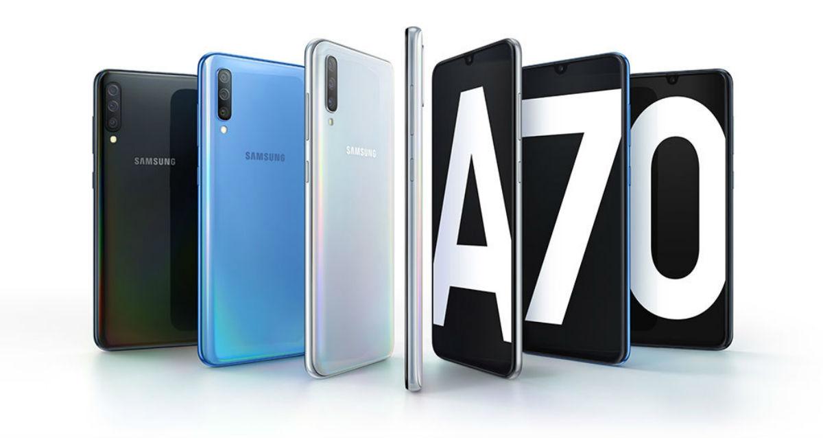 Samsung Galaxy A70, gama media con tres cámaras y batería de 4.500 mAh