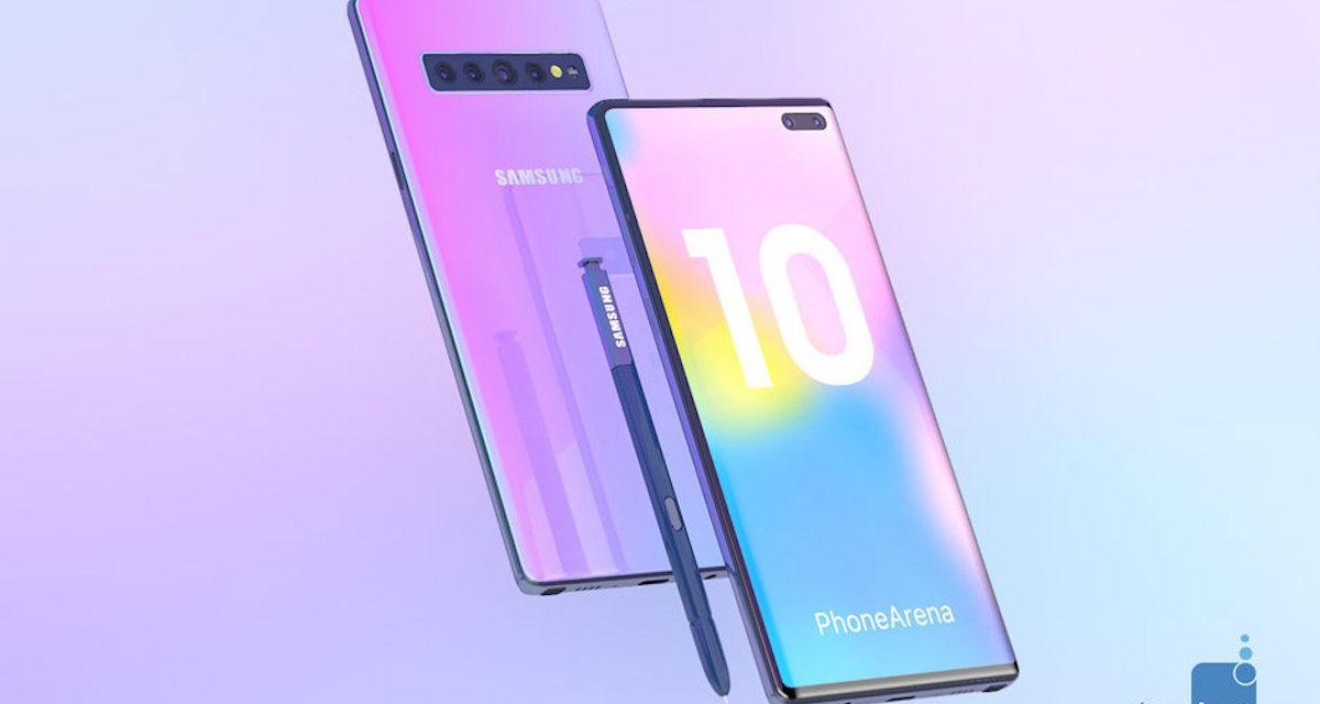 Samsung podría lanzar una versión Pro del Samsung Galaxy Note 10