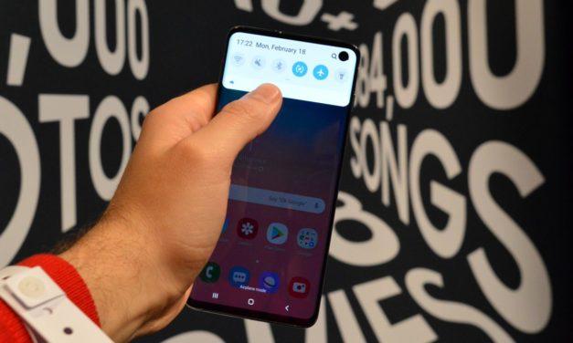El móvil todo pantalla de Samsung llegaría en breve